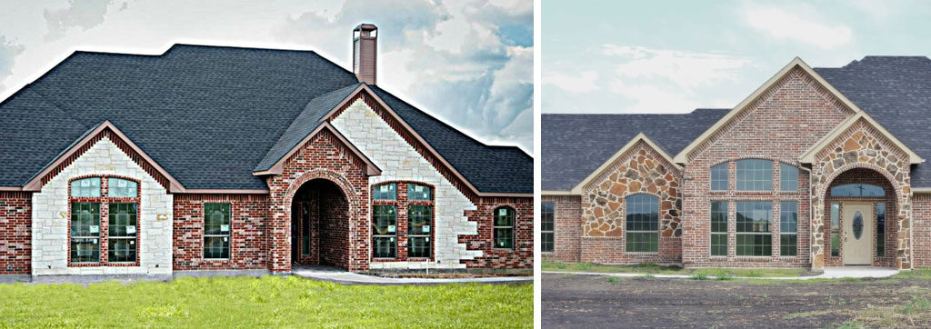 home builders Forney Tx exteriors